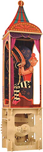 - Clockwork Dreams Automata Kit, Circus Series, Acrobat - CWD403 - Mini Machine Wood Kit