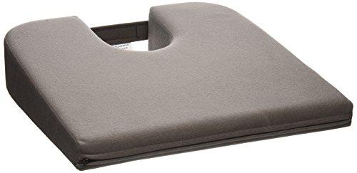 Tush Cush Car - Tush Cush Compact Car Cush - Charcoal Gray