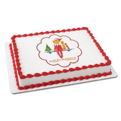 Elf On A Shelf Licensed Edible Cake Topper #35122