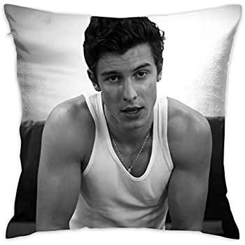 SWOONSOME Mendes Pillowcase Multicoloured Generalduty Pillow Case Size 18 X 18 Inch / 45 X 45 cm