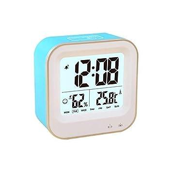 AOLVO Despertador Digital, USB Recargable, Gran Reloj de ...