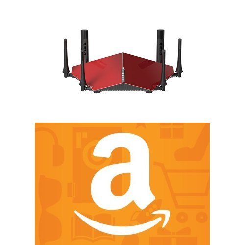 D-Link AC3200 Ultra Tri-Band Wi-Fi Router and $25 Amazon Gift Card