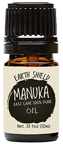 Earth Shield Manuka Oil is a premium 100% pure Therapeutic Grade. Harvested and distilled in New Zealand East Cape - 10ml.