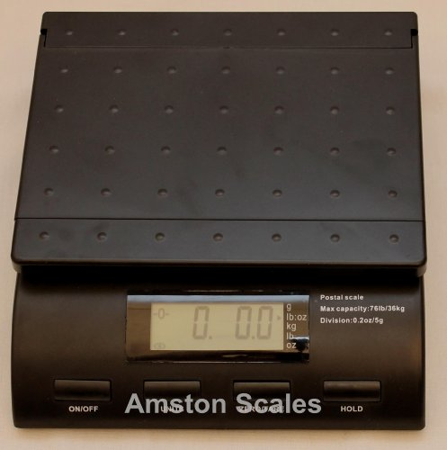 56 LB x 0.2 OZ Digital Postal Postage Shipping Scale Mail USPS UPS FEDEX Bench Package by Amston Scales