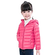 TRENDINAO Toddler Baby Girls Boys Down Jacket Coat Autumn Winter Warm Clothes Outwear