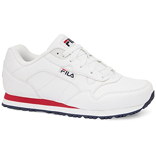 Fila Women's Cress Athletic Sneakers, White Man-Made, Rubber, 8 M