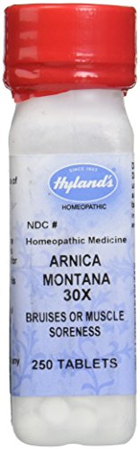 Natural Wealth 250 Tablets (Hylands Arnica Montana homeopathic Soreness Relief, 3 Count)