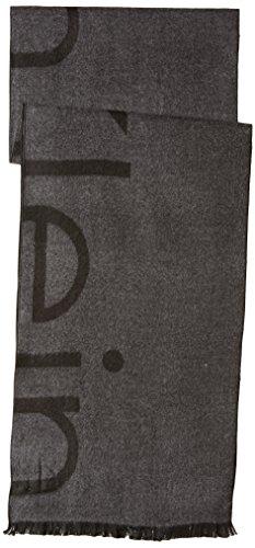 Calvin Klein Men's Scarf, Fringed Logo