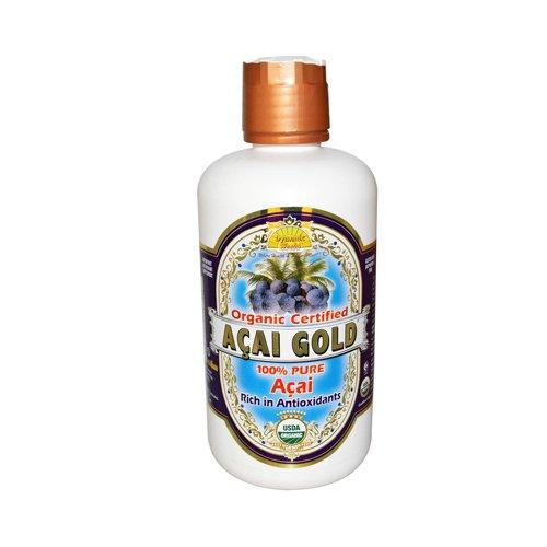 Dynamic Health Certified Organic PureAcai Berry Juice Gold -- 32 fl oz