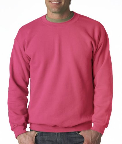 Gildan Men's Heavy Blend Crewneck Sweatshirt - XXXXX-Large - Heliconia
