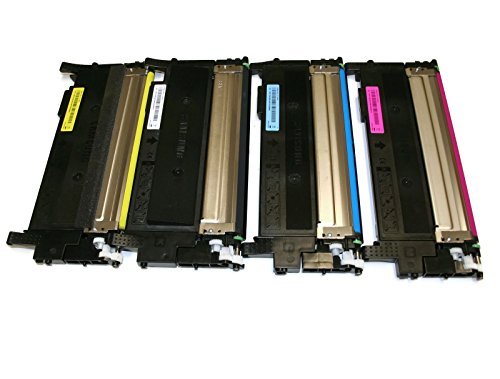Remanufactured 4 Pack Toner cartridges for Used in Samsung Xpress SL-C430W SL-C480FW SL-C480FN C430 C430W C480 C480FW C480FN Laser Printer
