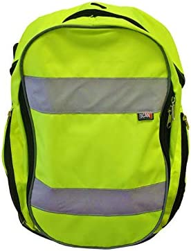 B-Click CHVR Standard High Visibility Work Cyclist Rucksack Backpack