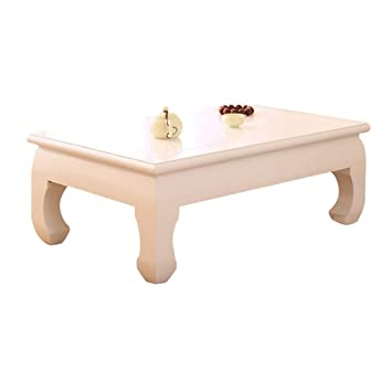 Tables Basse De Salon Antique Basse En Bois Massif Basse Blanche à