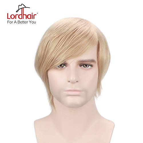 Lordhair Toupee With Human Hair Full French Lace Hairpieces And Freestyle Hairstyle Toupee For Men Color 22 (14 other colors -