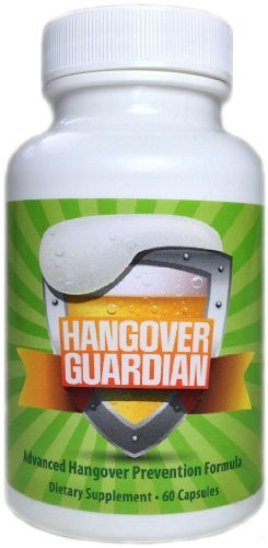 Hangover Guardian: Advanced Hangover Pills w/Activated Charcoal, Cysteine, COQ10, & B Complex Vitamin Formula (60 Capsules) by Hangover Guardian