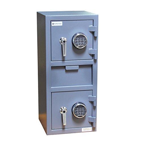 SD-05EEM Mamba Vault Dual Compartment Drop Safe w/Electronic (Dual Compartment Drop Safe)