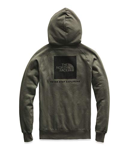 The North Face Red Box Pullover Hoodie - Women's New Taupe Green/TNF Black Small