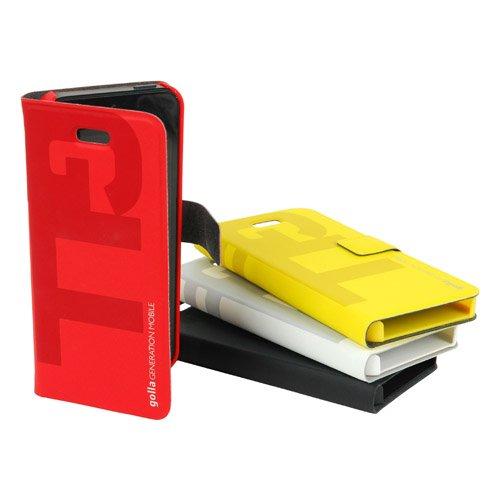Golla Slim Folder - CARLOS - Schwarz G1492 Case für Apple iPhone 5