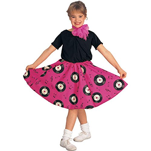 Kid's 50s Jukebox Girl Costume (Size: Small 4-6)