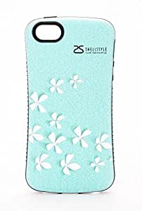 iPhone 6 Case, TPU + PC Hybrid for iPhone 6 (4.7-inch), Butterfly (Blue) - 6073i1