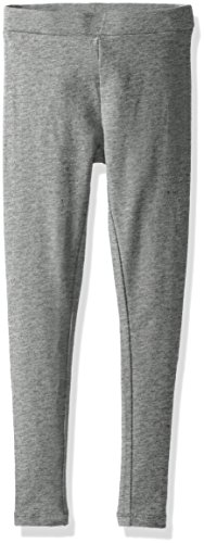 Scout + Ro Girls' Solid Jersey Legging, Storm Heather, (Jersey Ankle Leggings)