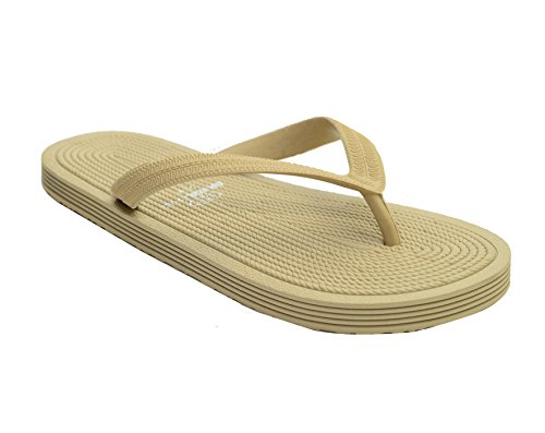 Brasileras ROP - Ciabatte, unisex, colore: beige, taglia 39-40