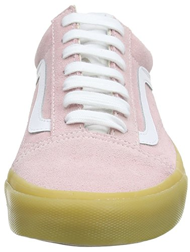 Adults' Skool Qk7 Unisex Double Vans Pink Pink Old Trainers Light Chalk Gum twg5q4
