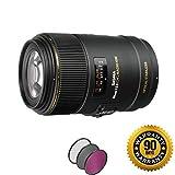 Sigma 105mm f/2.8 EX DG OS HSM Macro Lens for Nikon F with UV Filter (Renewed)