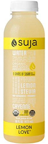 Suja Lemon Love, Organic & Cold-Pressed Lemon Juice Drink, 16 oz