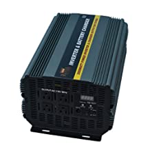 3000 Watt Power Inverter 12 Volt DC To 110 Volt AC with 20amp Charger and Auto Transfer Switch