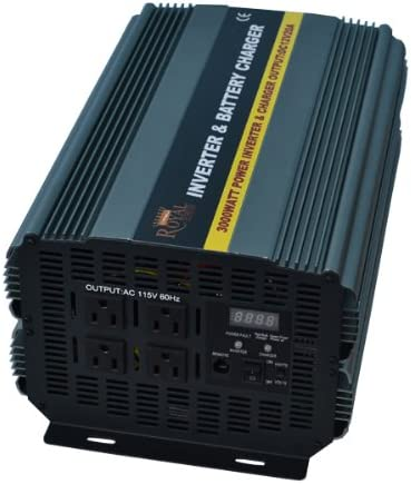 B007ZT10DU 3000 Watt Power Inverter 12 Volt DC To 110 Volt AC with 20amp Charger and Auto Transfer Switch 41ptoYS0qBL.