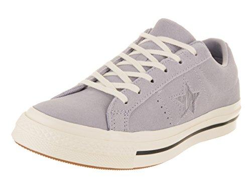 (Converse Unisex One Star Ox Provence Purple/Silver/Egret Casual Shoe 8 Men US / 10 Women)