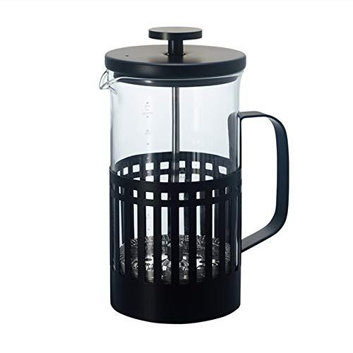 Cafeteras de émbolo Presión francés Filtrar Pot Coffee Pot hogar Copa de Color Mano de presión del Filtro francés Pot…