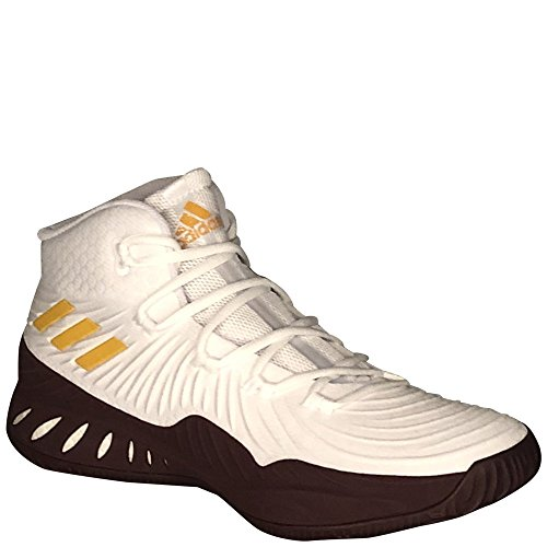 Adidas Mens Sm Pazzo Exp 2017 Nba / Ncaa Basketball Runwhite / Cogold / Lgtmar 8.5 D (m) Us