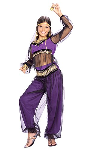 Rubie's Harem Princess Child's Costume, (Child Belly Dancer Halloween Costume)