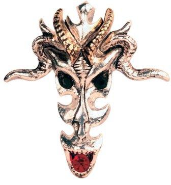 (Dragon Skull, Wealth & Riches Pendant)