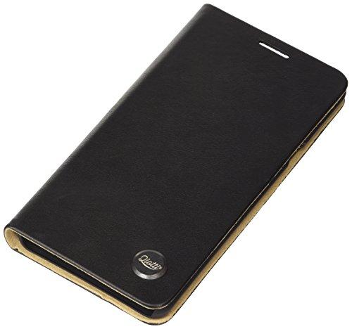 QIOTTI Q. Book Transporteur Premium Étui Livret en cuir véritable pour Samsung Galaxy Note 5slim–Noir