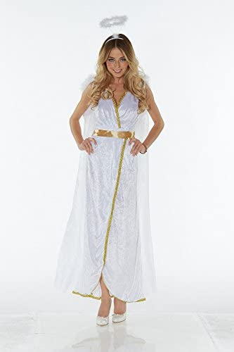 Guardian Angel Costume with Wings and Halo: Amazon.es: Juguetes y ...