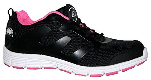 Grondwerk Veiligheid Gr95 Schoenen Unisex-volwassen Zwart / Roze