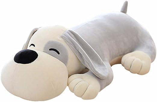 Free Shipping 90cm Big Head Plush Dog Cute Stuffed Animal Doll Soft Toy 4 Colors