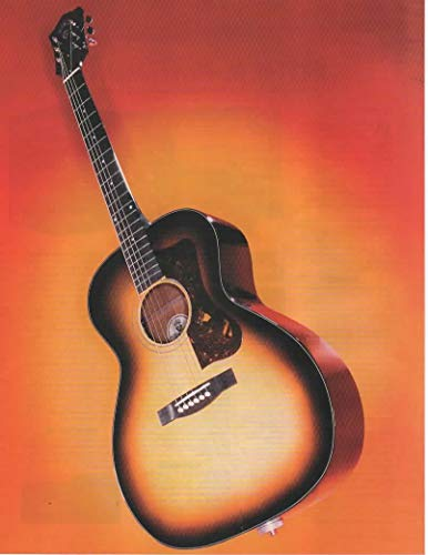 """Magazine Print ad: 2007 Guild F-40 Valencia Acoustic-Electric Guitar with D-TAR System,""""Loud and Proud"""""""