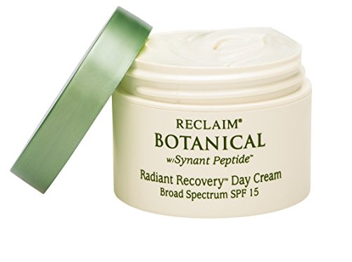 Principal Secret – Reclaim Botanical – Radiant Recovery Day Cream – Hydrating Moisturizer – Broad Spectrum SPF 15 – 90 Day Supply/1 Ounce