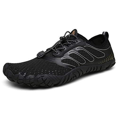 Men Women Water Sports Shoes Quick-Dry Barefoot Multifunctional Beach Swim Walking Running Shoes ()