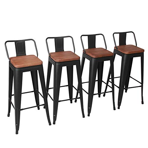 kless Counter Bar Stool for Indoor-Outdoor(Pack of 4) (30