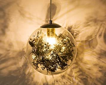 Kronleuchter Glaskugeln ~ Glas kugel kronleuchter dekoration wunderschönes ambiente