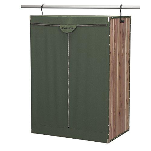 Household Essentials 2534-1 CedarStow Premier Garment Wardrobe | X-Wide | Cedar Green by Household Essentials