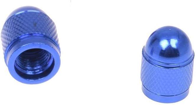 Vektenxi Premium Quality Druckkappe 4pc neue Ventilkappe Reifendruckkappe Radkappe Staub Xelo Stange f/ür Auto Auto blau