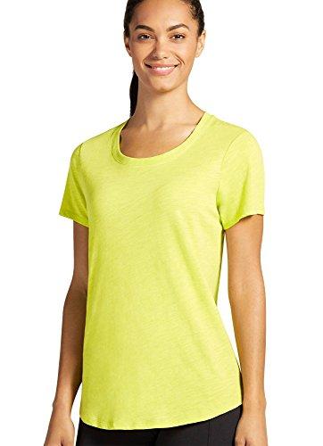 Jockey Women's Activewear Core Tee, Lime, L