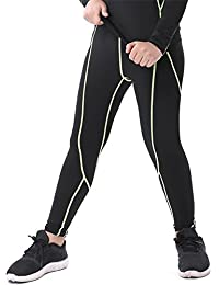 Boys & Girls Compression Tights Sport Leggings Base Layer Soccer Hockey Thermal Pants for Kids