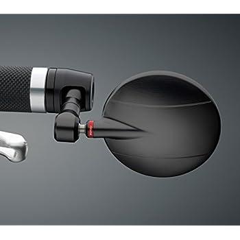 Amazon Com Rizoma Spy R 80 Mirror Black With Mounting
